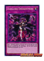 Darklord Enchantment - DESO-EN037 - Secret Rare - 1st Edition