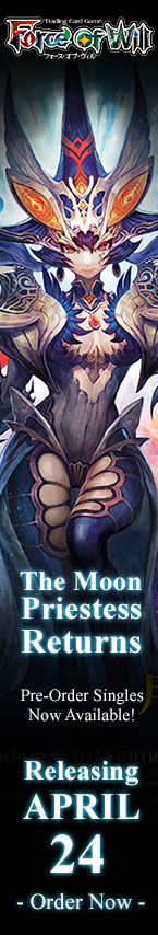 Force of Will TCG Moon Priestess Returns Products and Singles