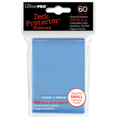 Ultra Pro Small Sleeves 60ct. - Sky Blue