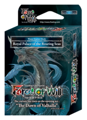 SDS1 ST03 Royal Palace of the Roaring Seas (English) Force of Will Water Starter Deck