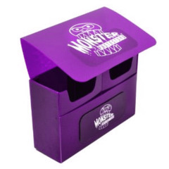 Monster Protectors Double Deck Box - Violet on Ideal808