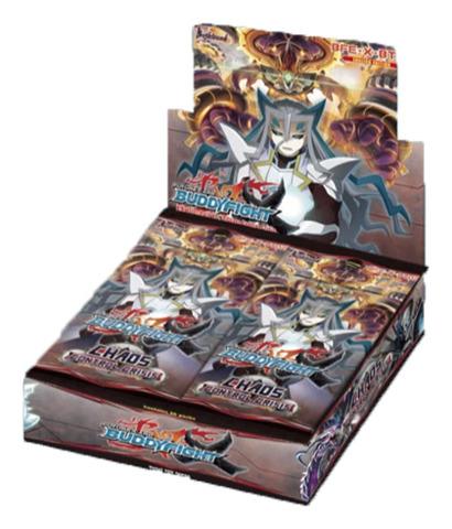BFE-X-BT02 Chaos Control Crisis (English) Future Card Buddyfight X Booster Box