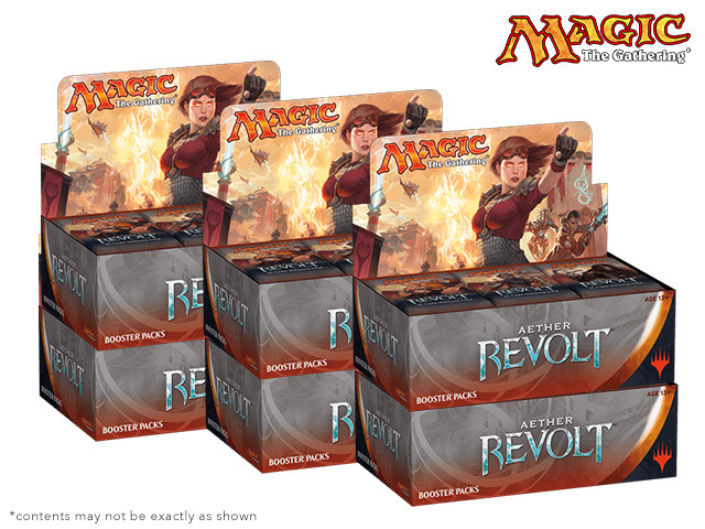 Aether Revolt (AER) Booster  Case (6 Boxes)