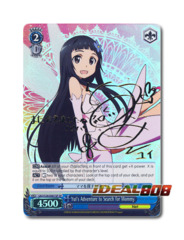 Yui's Adventure to Search for Mommy [SAO/S26-E061SP SP (SIGNED FOIL)] English