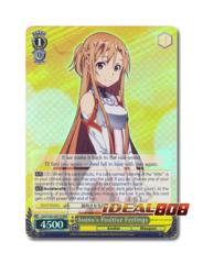 Asuna's Positive Feelings [SAO/S26-E001R RRR (FOIL)] English
