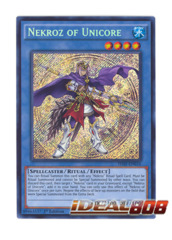 Nekroz of Unicore - THSF-EN016 - Secret Rare - 1st Edition