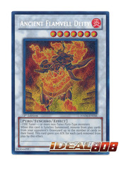 Ancient Flamvell Deity - Secret Rare - HA04-EN056 on Ideal808