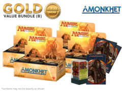 MTGAKH Bundle (B) Gold - Get x4 Amonkhet Booster Box + FREE Bonus
