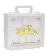 ZeXal Logo White / Clear Card Carrying Case on Ideal808