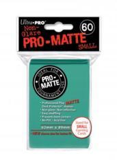 Ultra Pro Matte Non-Glare Small Sleeves 60ct - Aqua (#84152)