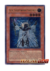Lyla, Lightsworn Sorceress - Ultimate - LODT-EN019 (1st Edition) on Ideal808