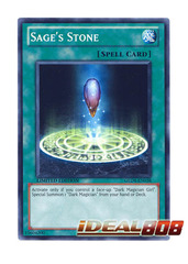 Sage's Stone - GLD4-EN038 - Common - Limited Edition