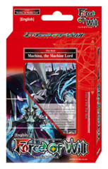 A02 Machina, the Machine Lord (English) Force of Will Fire Starter Deck