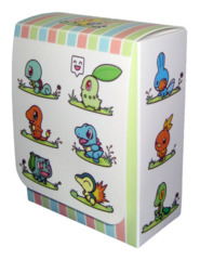 Pokemon Center Compact Deck Box  - Starters - Squirtle, Charmander, Bulbasaur, Chikorita, Totodile, Cyndaquil and more!! on Ideal808