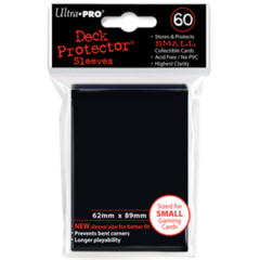 Ultra Pro Small Sleeves 60ct. - Black