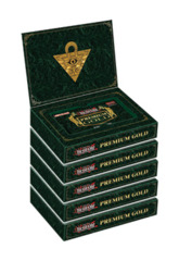 Yugioh Premium Gold Display Box (Contains 5 Boxes with 3 mini-packs)