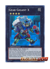 Gear Gigant X - CT10-EN017 - Super Rare - Limited Edition