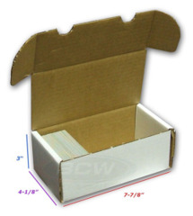 BCW  400 Storage Box - White (1-BX-400)