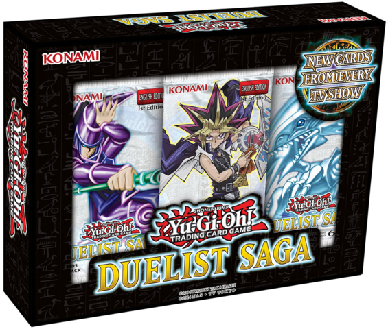 Duelist Saga MINI Box (contains 3 booster packs) * PRE-ORDER Ships Mar.31, 2017