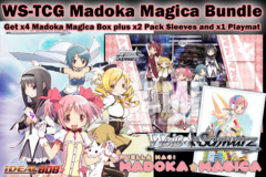 Weiss Schwarz Bundle - Get x4 Madoka Magica Booster Boxes plus x2 Hello Kitty Minase Shizuku Vol.31 Sleeve & Promo Playmat on Ideal808