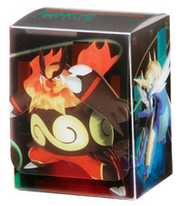 Pokemon Black & White Deck Box - Emboar, Serperior, Samurott on Ideal808