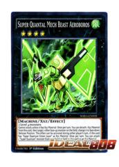 Super Quantal Mech Beast Aeroboros - WIRA-EN035 - Super Rare - 1st Edition