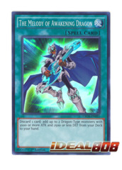 The Melody of Awakening Dragon - CROS-EN091 - Super Rare - Unlimited Edition