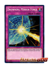 Drowning Mirror Force - SHVI-EN075 - Secret Rare - Unlimited Edition