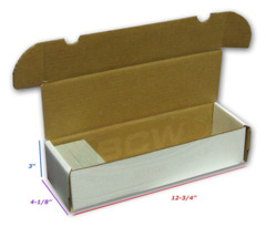 BCW 660 Storage Box - White (1-BX-660)