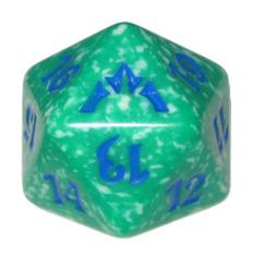 MTG Spindown 20 Life Counter - Gatecrash (Simic - Green/Blue)