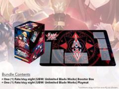 Fate/stay night [UBW: Unlimited Blade Works] (English) Weiss Schwarz Booster Box + Random Playmat