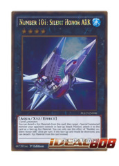 Number 101: Silent Honor ARK - PGL2-EN046 - Gold Rare - 1st Edition