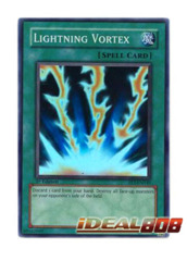 Lightning Vortex - FET-EN040 - Super Rare - 1st Edition