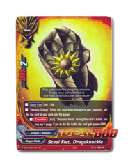 Steel Fist, Dragoknuckle - BT01/0011EN (RR) Double Rare