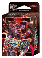 SDS1 ST02 Wolves of the Raging Flames (English) Force of Will Fire Starter Deck