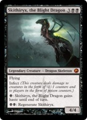 Skithiryx, the Blight Dragon - Foil on Ideal808