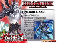 Yugioh HERO Strike 45-Card Constructed Deck (Boxless)