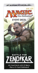 Battle for Zendikar (BFZ) Event Deck