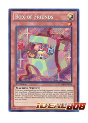 Box of Friends - NUMH-EN013 - Secret Rare - Unlimited