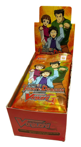 CFV-G-CHB02 We Are!!! Trinity Dragon (English) G-Character Booster Box