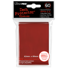 Ultra Pro Small Sleeves 60ct. - Red on Ideal808
