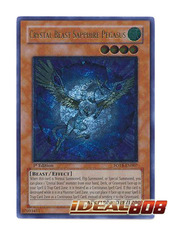 Crystal Beast Sapphire Pegasus - Ultimate - FOTB-EN007 (1st Edition) on Ideal808