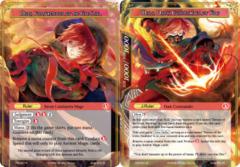 Mars, Fortuneteller of the Fire Star // Mars, Dark Commander of Fire [CFC-027 R (Textured Foil Ruler)] English