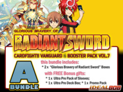 Cardfight Vanguard G-BT07 Bundle (A) - Get x2 Glorious Bravery of Radiant Sword Booster Box + FREE Bonuses