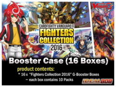 CFV-G-FC03 Fighters Collection 2016 (English) Cardfight Vanguard G Booster  Case (16 Boxes)
