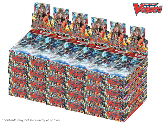 CFV-G-CHB02 We Are!!! Trinity Dragon (English) G-Character Booster  Case (24 Boxes) * PRE-ORDER Ships Mar.24