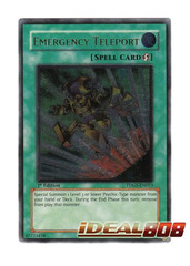 Emergency Teleport - TDGS-EN053 - Ultimate Rare - 1st Edition