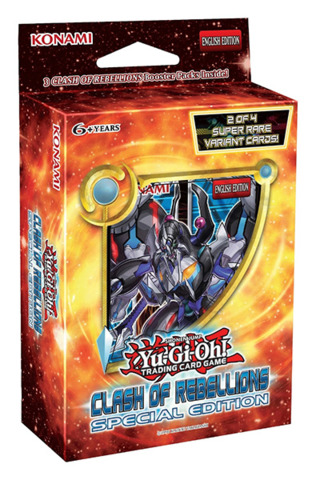 Yugioh Clash of Rebellions Special Edition Pack