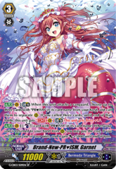 Brand-New-PRISM, Garnet - G-CB03/S09EN - SP