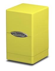 Ultra Pro Satin Tower Deck Box - Yellow (#84182)